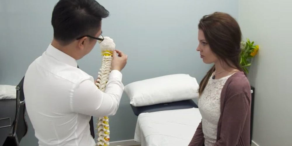 Explaining spine condition with spine prop