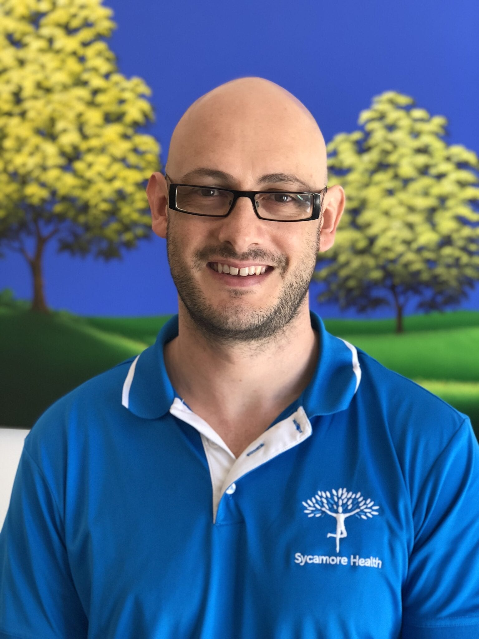 Physiotherapist Andrew Edwards